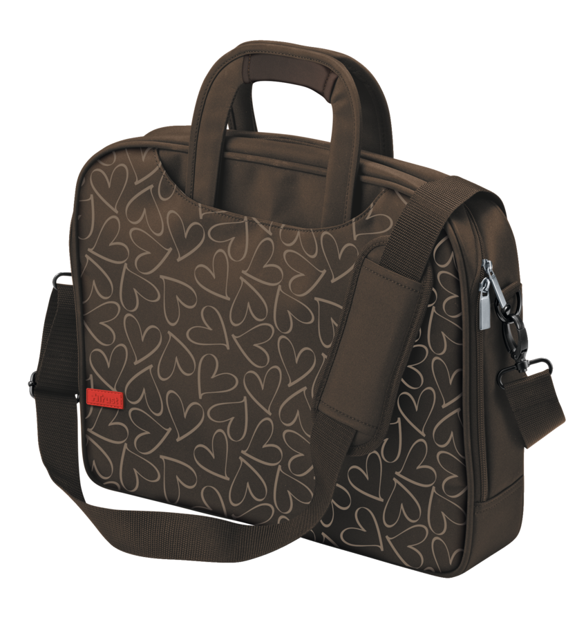 """Trust Oslo Carry Bag for 15.6"""" laptops - brown"""