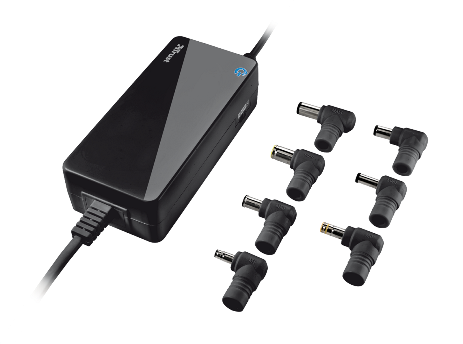 sada TRUST 70W Primo Laptop Charger - black