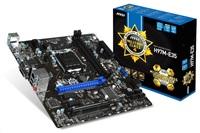 MSI MB Sc LGA1150 H97M-E35, Intel H97, 2xDDR3, VGA, GbLAN, mATX