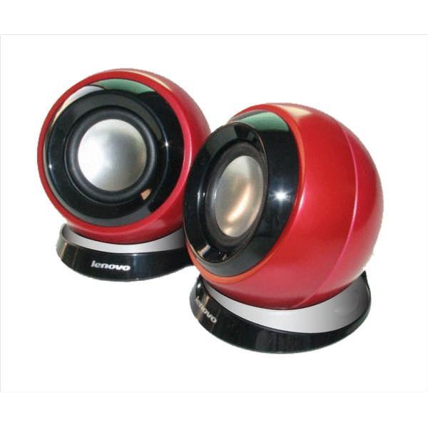 Lenovo Idea reproduktory Portable Speaker 2.0 M0520 červené