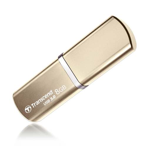 Transcend 8GB JetFlash 820, USB 3.0 flash disk, zlatý