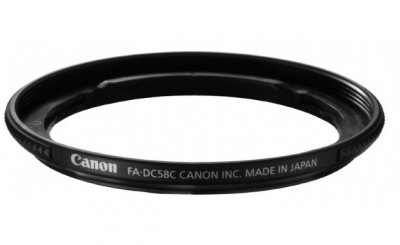 Canon FA-DC58E - redukce na filtr pro Powershot G1X Mark II
