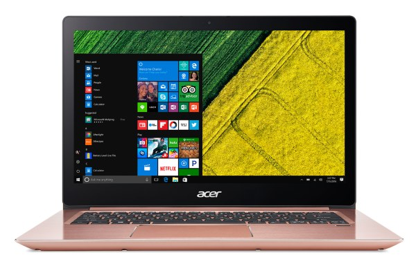 "Acer Swift 3 (SF314-52-P140) Pentium Gold 4415U/4GB+N/A/256GB SSD+n/a/HD Graphics/14"" FHD IPS/W10 Home/Pink"