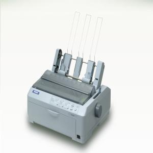 EPSON jehličková LQ-590 - A4/24pins/530zn/1+4kopii/USB/LPT