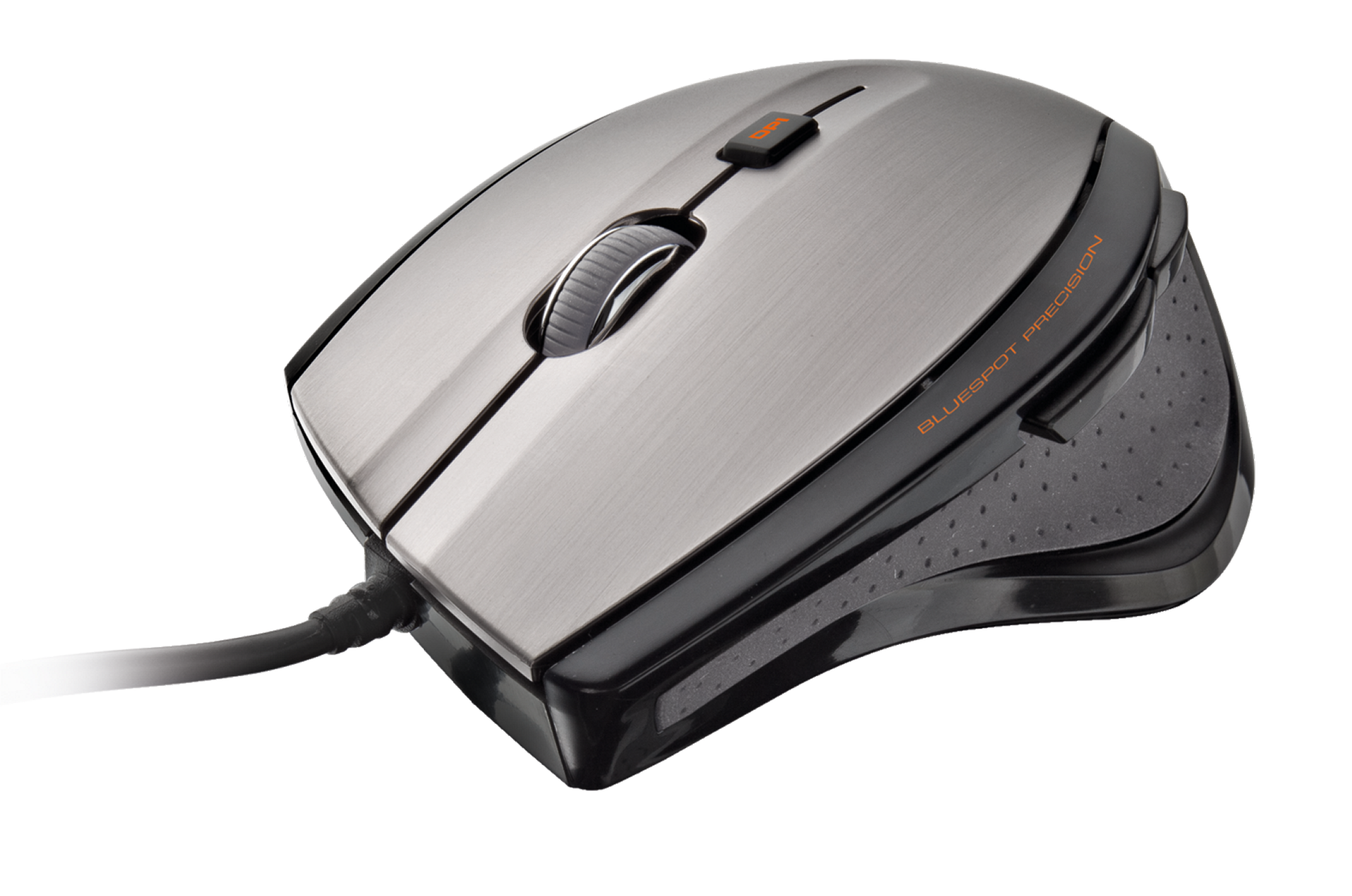 myš TRUST MaxTrack Mouse - black/grey