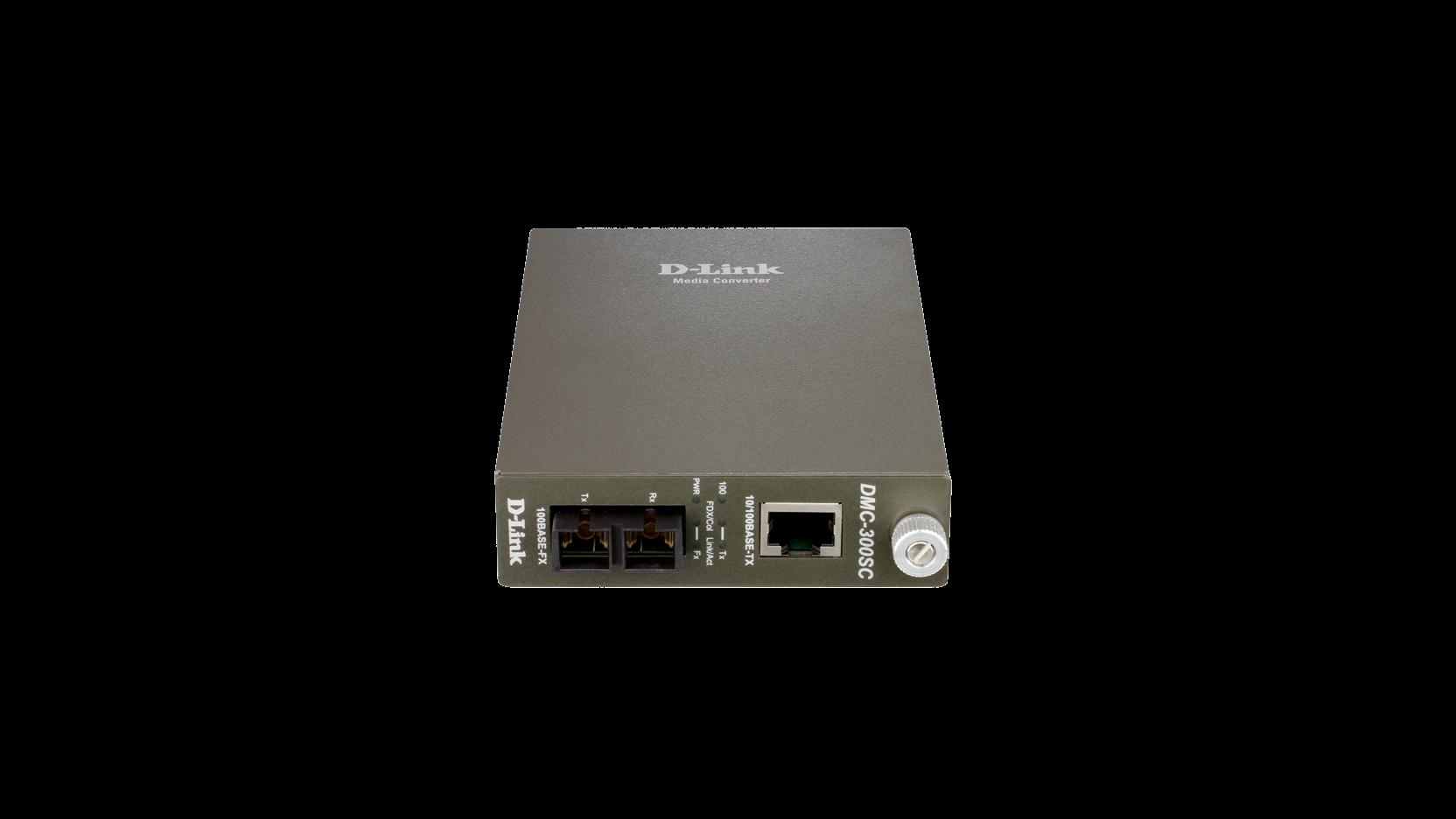 D-Link konvertor média, 10/100BaseTX na 100BaseFX (SC) Multimode