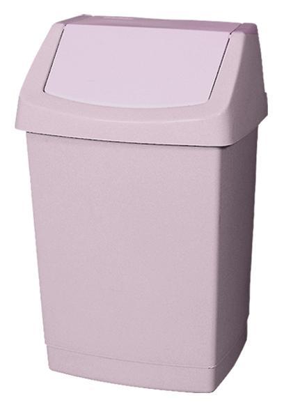 Koš odpadkový 9l CLICK savana