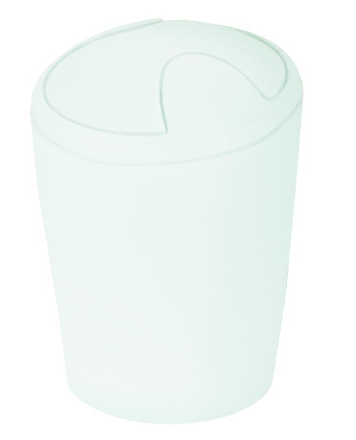 Odpadkový koš MOVE white