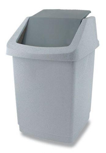Koš odpadkový 1,5l CLICK luna