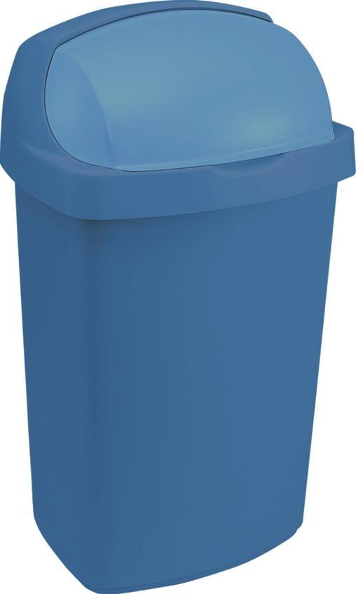 Koš na odpadky ROLLTOP 10 L modrý