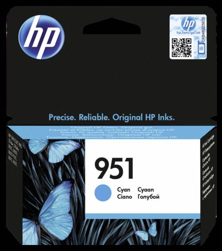 HP CN 050 AE cartridge modra c. 951