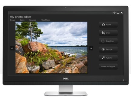 "DELL UZ2315H 23""/8ms/1000:1/CAM/VGA/DP/HDMI/USB/Full HD/Repro/IPS panel/cerny"