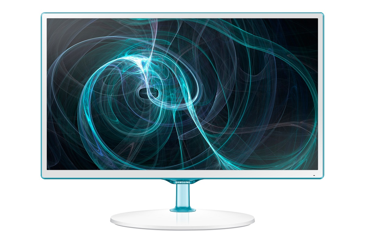 "Samsung 23,6"" LCD T24D391 - HD tuner, PLS, 1920x1080, HDMI, USB, SCART, bílý"