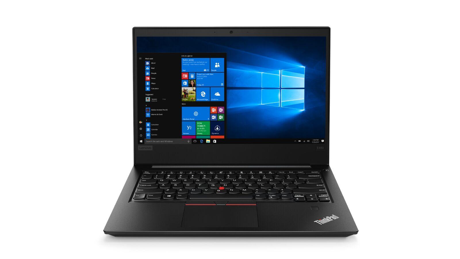 Lenovo Thinkpad E480 14''FH/i5-8250U/8G/256/F/Intel UHD/W10P/černý
