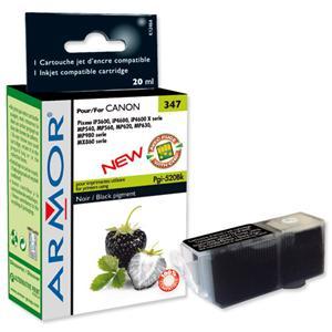 ARMOR cartridge pro CANON iP 3600/4600 Black s čipem (PGI520BK)