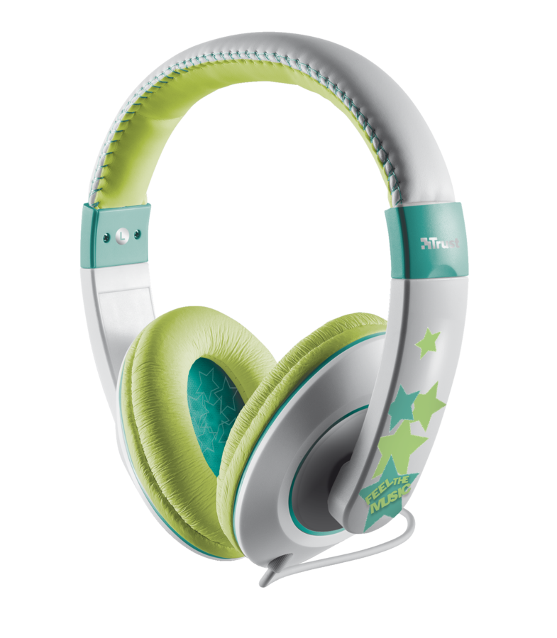náhlavní sada TRUST Sonin Kids Headphone,gray