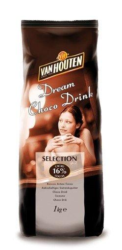 Horká čokoláda Van Houten Selection 1 kg (16% kakao)