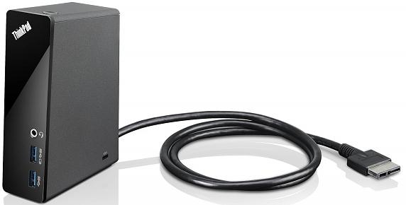 Lenovo TP OneLink Dock E440/E450/E455/E460 /E540/E550/E560/E555/S440/S531/S540/X1(2 a 3 Gen.)/Yoga12/14/15+zdroj,černý