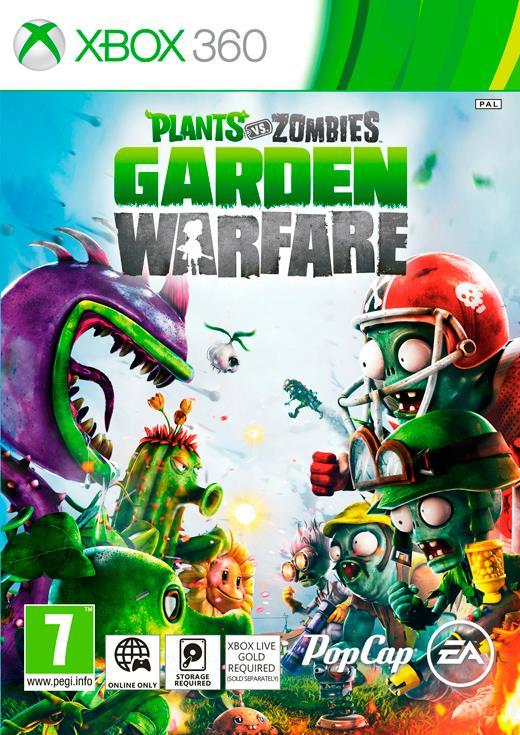 PLANTS VS ZOMBIES GARDEN WARFARE CZ/SK XBOX 360