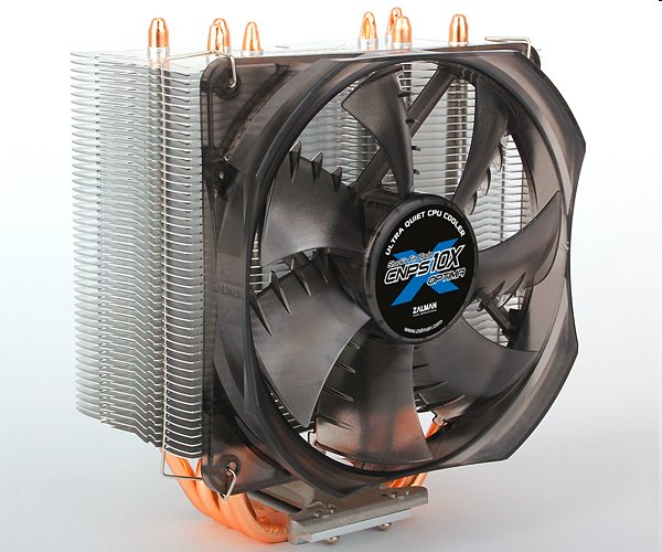 Zalman chladič CPU CNPS10X OPTIMA(2011), univ. socket, 120mm PWM fan, 4x heatpipe