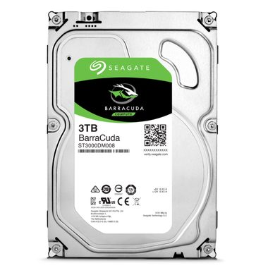 Seagate Barracuda 5400 3TB 3.5'' HDD, SATA3, 5400RPM, 256MB cache