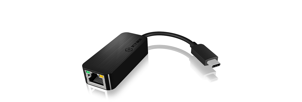IcyBox USB Type-C to Gigabit Ethernet Adapter