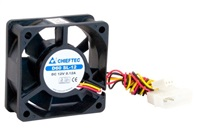 Chieftec AF-0625S ventilátor do PC skříně - 60x60x25mm - 3/4pin konektor