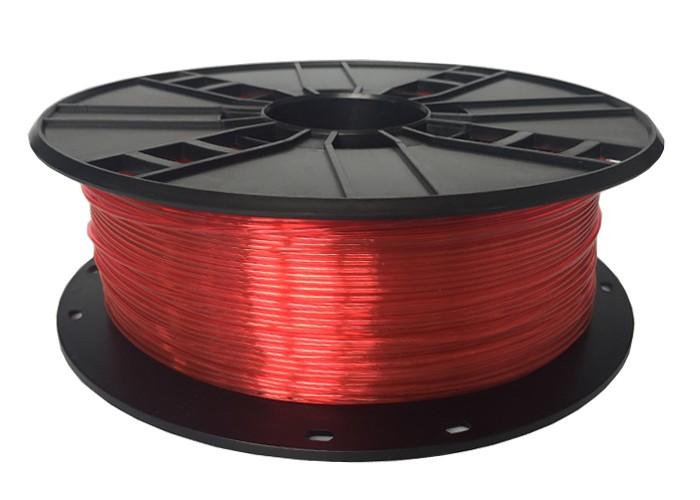 GEMBIRD Struna pro 3D tisk,PETG,1,75mm,1Kg,červená