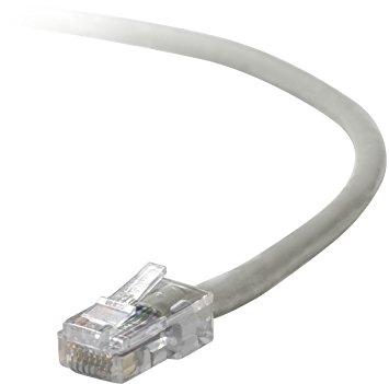 Belkin kabel PATCH UTP CAT5e 1m šedý, bulk Snagless