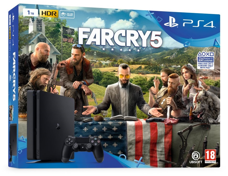 SONY PlayStation 4 Slim - 1TB + Far Cry 5
