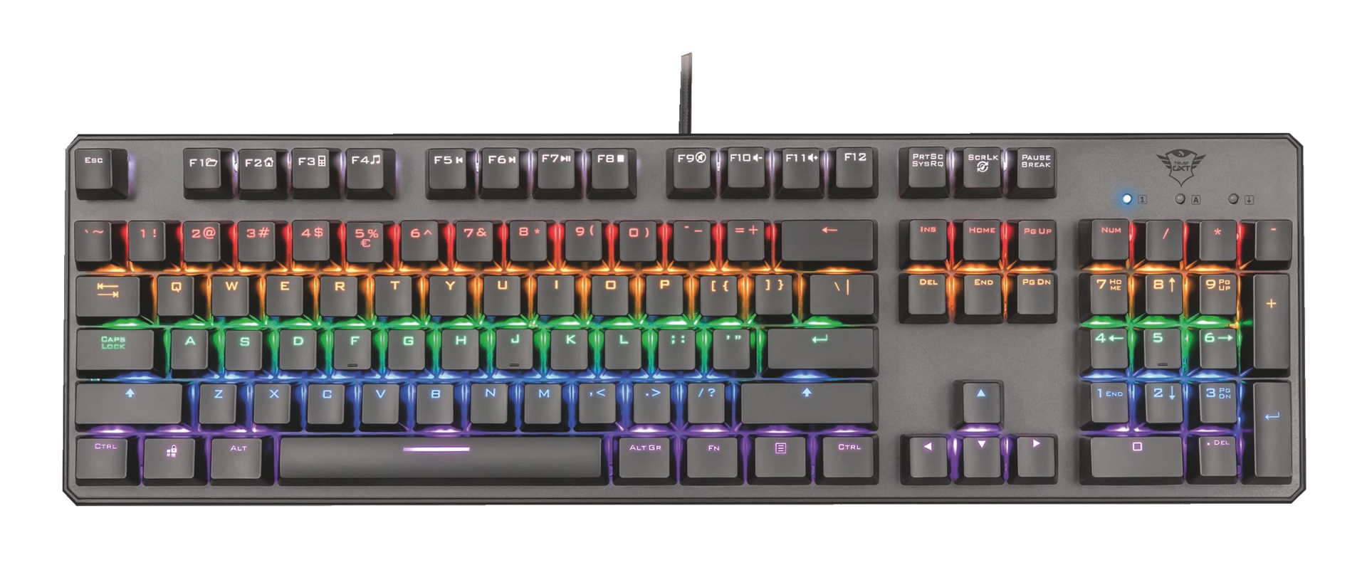 Trust GXT 865 Asta Mechanical Keyboard 22630 klávesnice