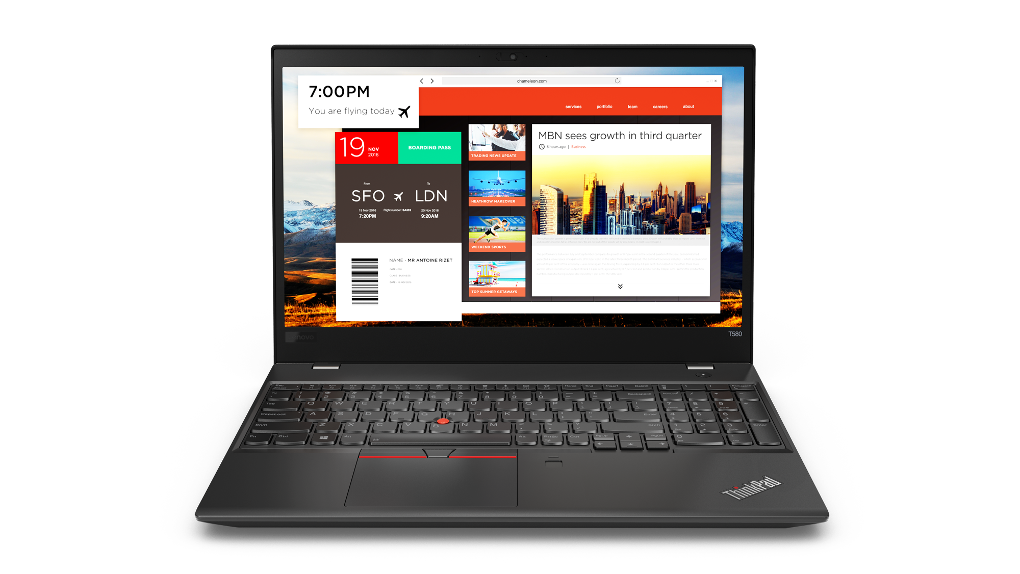 "Lenovo ThinkPad T580 i7-8550U/8GB/256GB SSD/UHD Graphics 620/15,6"" FHD IPS/4G/Win10PRO/black"