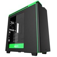 NZXT PC skříň H440 černo-zelená s oknem
