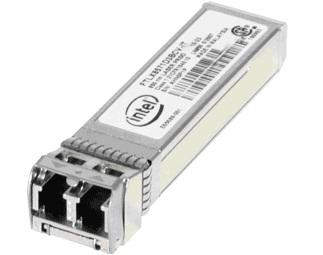 Intel® Ethernet SFP+ SR Optics, retail unit