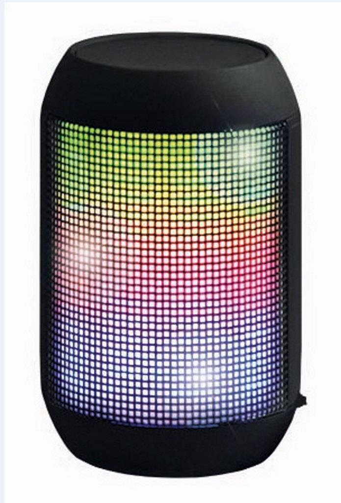 X-ZERO Bezdrátový Bluetooth reproduktor X-S1835BK 3W, barevné podsvícení