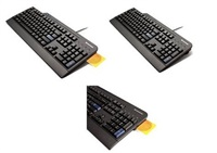 Lenovo klávesnice USB Black Preferred Smartcard reader -CZ