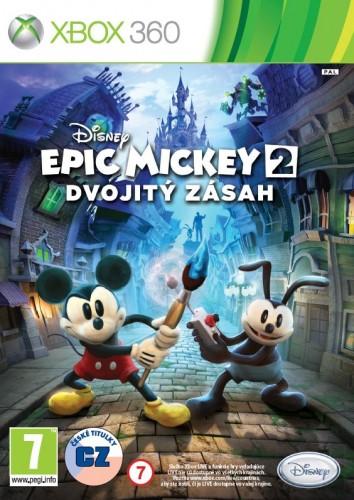 X360 - Disney Epic Mickey 2: Dvojitý zásah