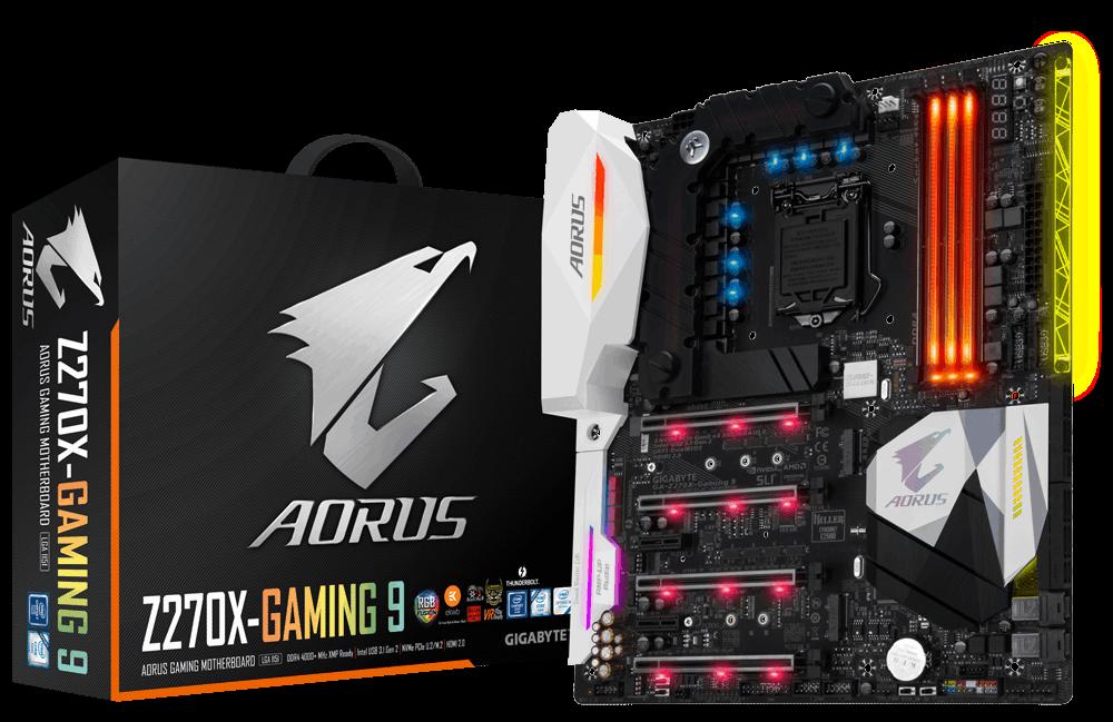 Gigabyte GA-Z270X-Gaming 9, Z270, DDR4, HDMI 2.0,DP, USB 3.1