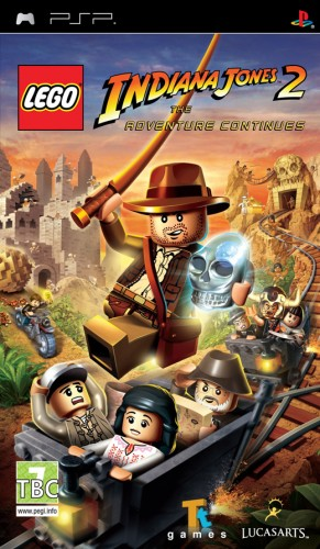 PSP - LEGO Indiana Jones 2: The Adventure Continue