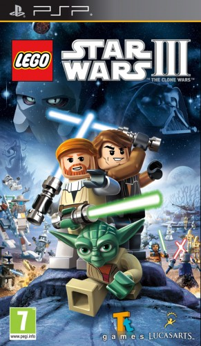PSP - Lego Star Wars III: The Clone Wars