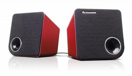Lenovo Idea stereo reproduktory 2.0 M0620 -červené