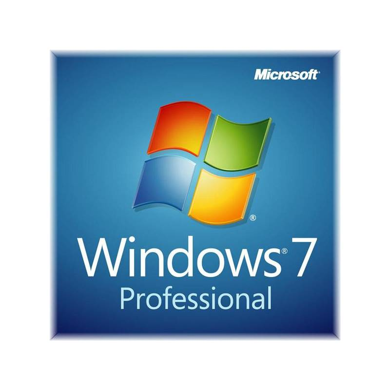 MS OEM Windows 7 Pro SP1 GGK x32/x64 EN 1pk DVD