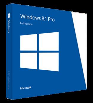 MS Win Pro 8.1 Win32bit English 1pk OEM DVD