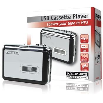 Konig konvertor audiokazet na MP3