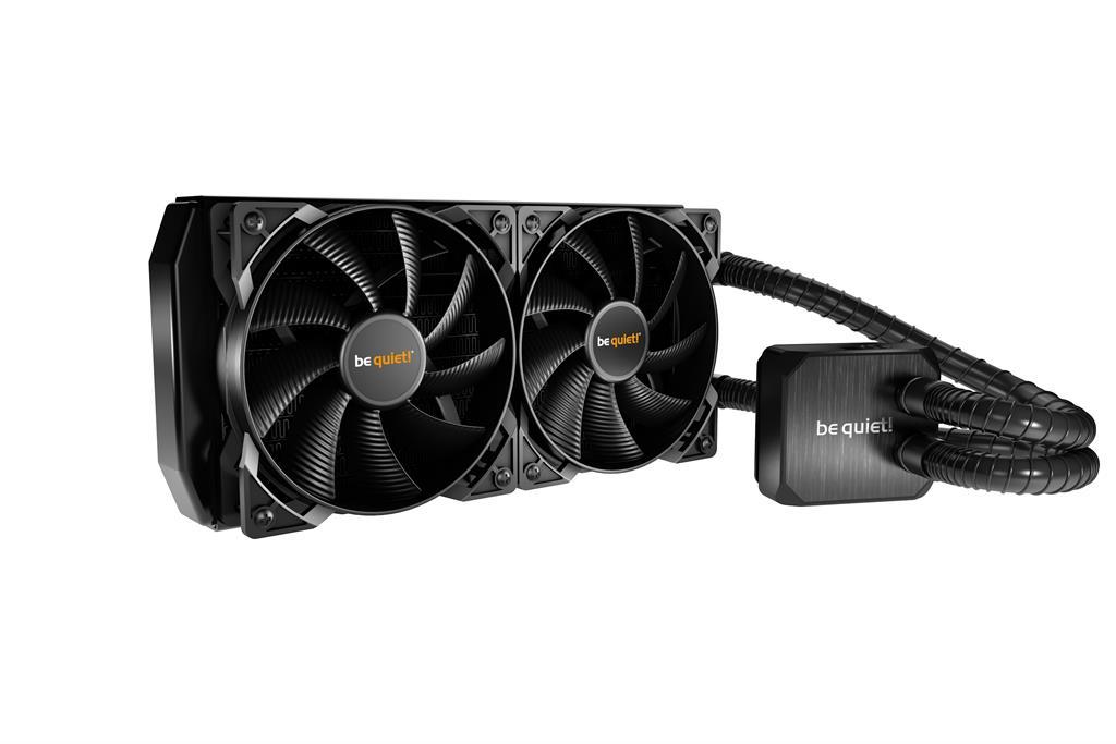 be quiet! water cooler Silent loop 240mm, LGA 115*, 1366, 2011, AMD AM2+ AM3+