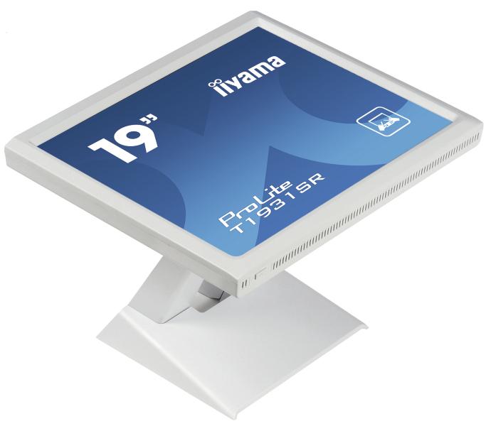 """19"""" LCD iiyama T1931SR-W1- 5 žilový,DVI,USB,RS-232"""