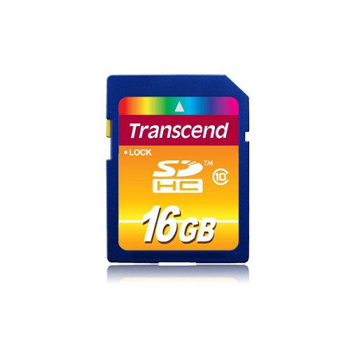 Paměťová karta TRANSCEND 16GB SDHC CARD (SD 3.0 SPD Class 10) memory card