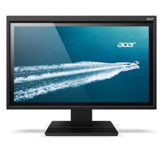 Acer LCD B226HQLAymidr, 55cm (21,5'') VA LED 1920 x 1080, 100M:1, 8ms, DVI, HDMI, repro, DarkGrey, Hgt. Adj, Pivot,