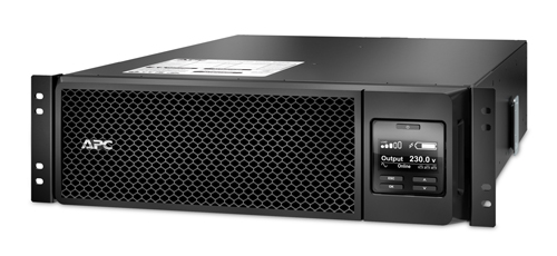 APC Smart-UPS SRT 5000VA (4,5 kW) 230V Rack Mount, 3U, hl. 71,9 cm