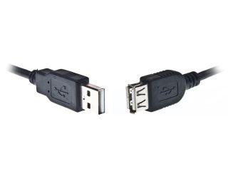 Gembird USB 2.0 kabel A-A prodlužovací 4.5m černý